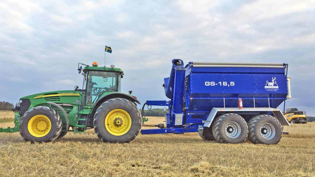 gs-16 grain cart side view