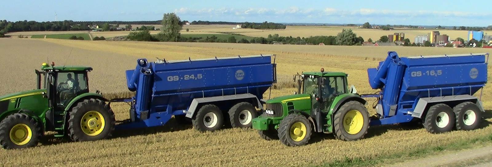 gs-16,5 gs-24 grain carts