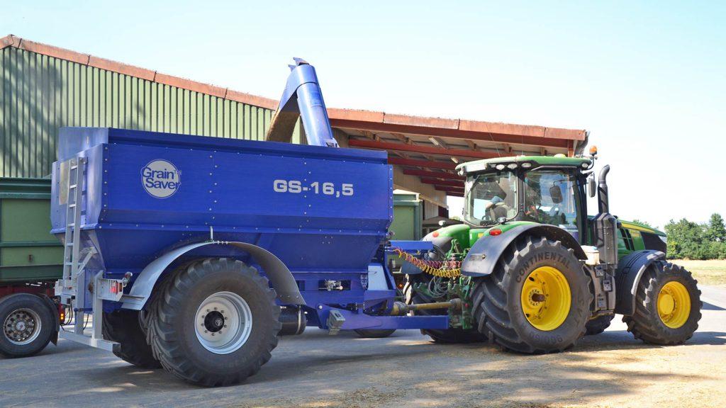 gs-16,5 grain cart offloading