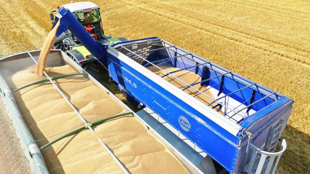 gs-24 grain cart offloading