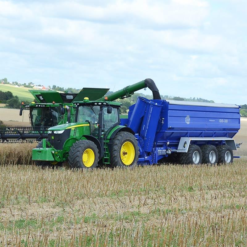 GrainSaver överlastningsvagn GS-38