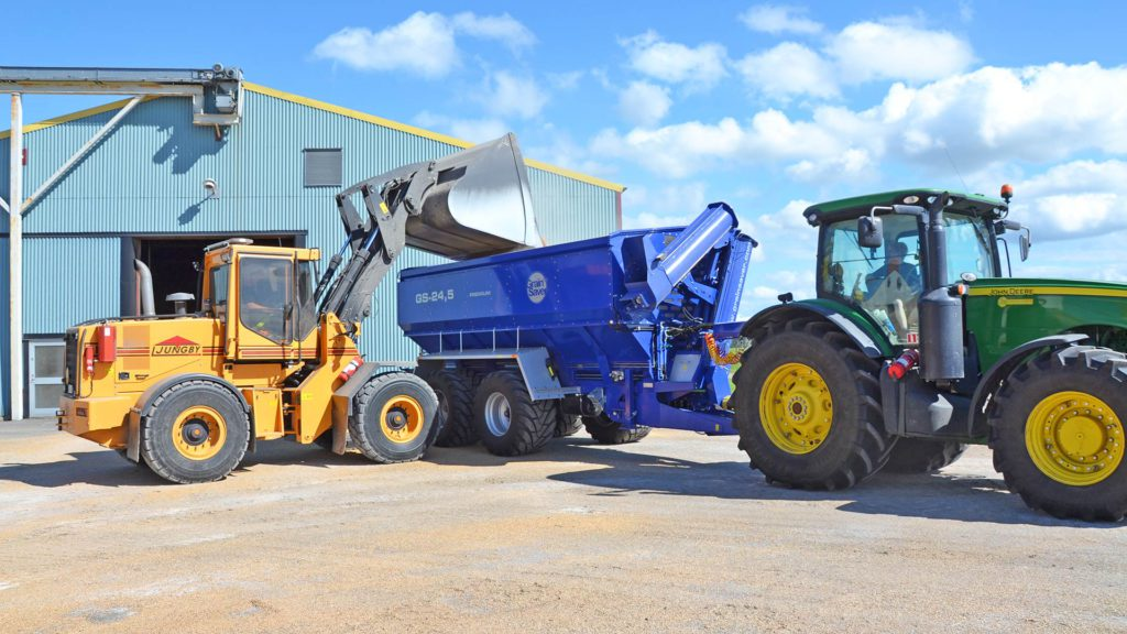 gs-24 grain cart with loader